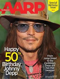 AARP Johnny Depp